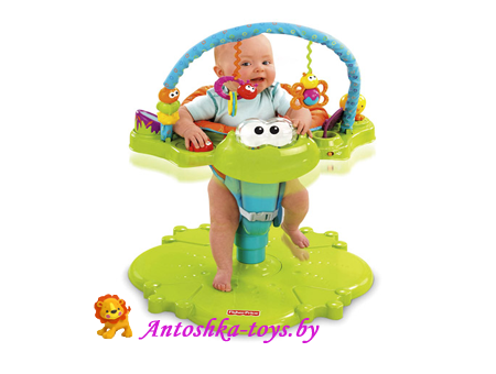 Прыгунки – игровой центр  Froggy Fisher Price