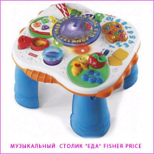 столик Еда Fisher Price
